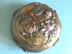 Mystical vintage styled Dragonfly Box
