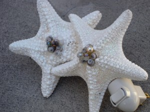 Sparkling Starfish night lights